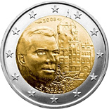 2 euro Grand-Duke Henri and the 'Château de Berg' - 2008 - Series: Commemorative 2 euro coins - Luxembourg