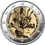 2 euro Paul the Apostle - 2008 - Series: Commemorative 2 euro coins - Vatican City