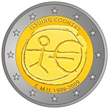 2 euro 10th Anniversary of the Introduction of the Euro - 2009 - Series: Commemorative 2 euro coins - Eurozone