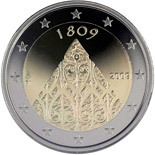 2 euro 200 years of Finnish autonomy - 2009 - Series: Commemorative 2 euro coins - Finland