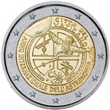 2 euro International Year of Astronomy - 2009 - Series: Commemorative 2 euro coins - Vatican City