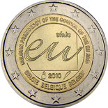 2 euro | Belgium | Belgian Presidency of the Council of the European Union in 2010  | 2010