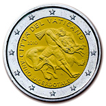 2 euro Year for priests - 2010 - Series: Commemorative 2 euro coins - Vatican City