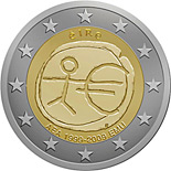 2 euro 10th Anniversary of the Introduction of the Euro - 2009 - Series: Commemorative 2 euro coins - Ireland