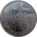 1 dollar Jacques Cartier on the Gaspé - 1984 - Series: Commemorative Circulation 1 dollar coins and Loonies - Canada