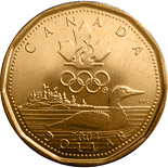 1 dollar Lucky Loonie - 2004 - Series: Commemorative Circulation 1 dollar coins and Loonies - Canada