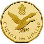 1 dollar Lucky Loonie - 2006 - Series: Commemorative Circulation 1 dollar coins and Loonies - Canada