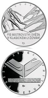 200 korun FIS Nordic World Ski Championships 2009 - Series: Silver 200 kronen coins - Czech Republic