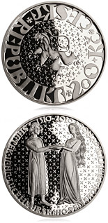 200 koruna coin 700th anniversary – John of Luxembourg's marriage to Elisabeth of Premyslides | Czech Republic 2010