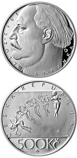 500 korun Birth of painter and puppeteer Jiří Trnka 2012 - Series: Silver 500 kronen coins - Czech Republic