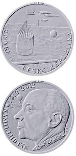 200 korun Birth of painter Kamil Lhoták 2012 - Series: Silver 200 kronen coins - Czech Republic