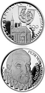 200 korun Death of Petr Vok of Rožmberk 2011 - Series: Silver 200 kronen coins - Czech Republic