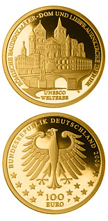 100 euro coin UNESCO Welterbe Trier | Germany 2009