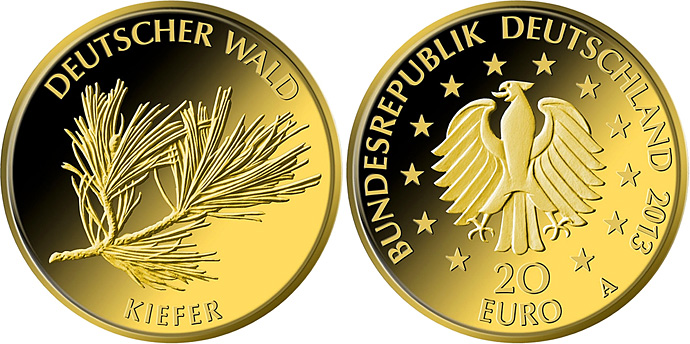 Deutscher Wald Germany Coin Series Collector Coin