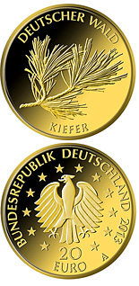 20 euro coin Kiefer | Germany 2013