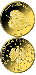 20 euro coin Linde | Germany 2015
