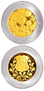 20 euro coin Estonia's accession | Estonia 2011