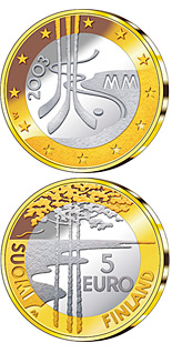 5 euro Ice Hockey World Championships 2003 - 2003 - Series: Commemorative 5 euro coins - Finland