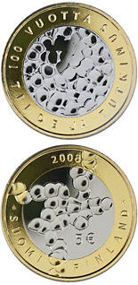 5 euro coin Science and Research | Finland 2008