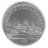 50 forint coin 50th anniversary of the 1956 Hungarian Revolution and War of Independence | Hungary 2006