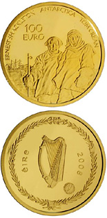 100 euro Polar Year - 2008 - Series: Irish others commmorative coins - Ireland