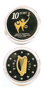 10 euro Special Olympics World Summer Games - 2003 - Series: Silver 10 euro coins - Ireland