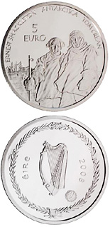 5 euro coin Polar Year | Ireland 2008