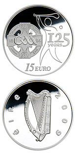 15 euro 125 Years of the GAA - 2009 - Series: Irish others commmorative coins - Ireland