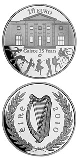 10 crowns 25th anniversary of Gaisce/The President's Award - 2010 - Series: European Silver Programme - Ireland