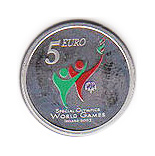 5 euro Special Olympics World Summer Games - 2003 - Series: Irish others commmorative coins - Ireland