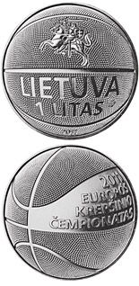 1 litas coin Basketball | Lithuania 2011