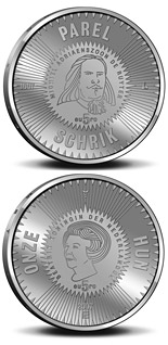 5 euro coin 400th birthday of Michiel Adriaenszoon de Ruyter  | Netherlands 2007