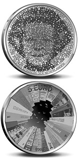 5 euro coin Architecture in Netherlands  | Netherlands 2008