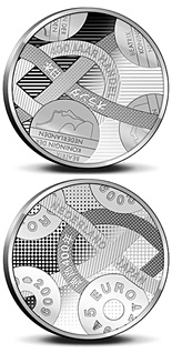 5 euro 400 years Trade relations with Japan  - 2009 - Series: Silver 5 euro coins - Netherlands