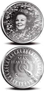 Image of a coin 5 euro | Netherlands | Max Havelaar | 2010