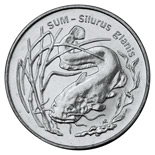 2 zloty coin Wels catfish | Poland 1995