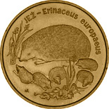 2 zloty coin European Hedgehog | Poland 1996