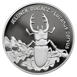 20 zloty Lucanus cervus - 1997 - Series: Animals of the World  - Poland