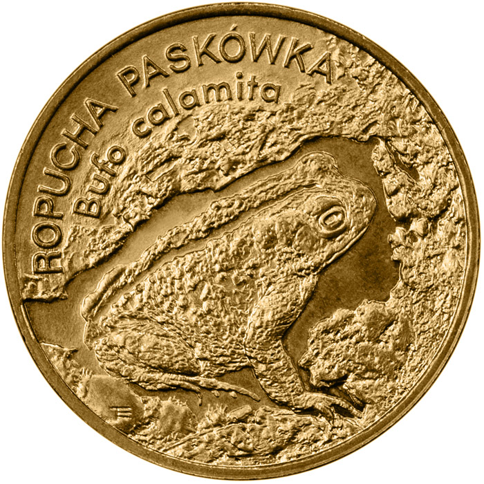 2 zloty Natterjack Toad - 1998 - Series: Animals of the World  - Poland