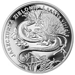 20 zloty European green lizard - 2009 - Series: Animals of the World  - Poland