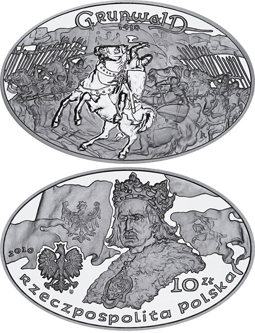10 zloty The Battle of Grunwald 1410 - 2010 - Series: Great Battles - Poland