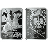 10 zloty The Mounted Knight 15th Century - 2007 - Series: History of the Polish Cavalry  - Poland