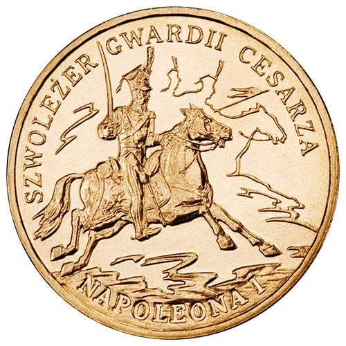 2 zloty Chevau-Légers of the Imperial Guard of Napoleon I - 2010 - Series: History of the Polish Cavalry  - Poland