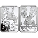 10 zloty Chevau-Légers of the Imperial Guard of Napoleon I - 2010 - Series: History of the Polish Cavalry  - Poland
