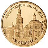 Image of 2 zloty coin - Trzebnica | Poland 2009.  The Nordic gold (CuZnAl) coin is of UNC quality.