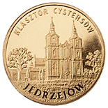 Image of 2 zloty coin Jędrzejów | Poland 2009.  The Nordic gold (CuZnAl) coin is of UNC quality.
