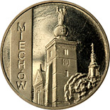 2 zloty Miechów - 2010 - Series: Cities of Poland - Poland