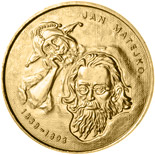 2 zloty Jan Matejko - 2002 - Series: Commemorative 2 zloty coins - Poland