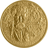 Image of Stanisław Wyspiański (1869-1907) – 2 zloty coin Poland 2004.  The Nordic gold (CuZnAl) coin is of UNC quality.