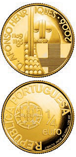0.25 euro coin D. Afonso Henriques | Portugal 2006